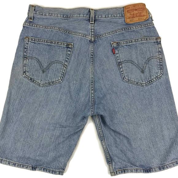 Levi's Other - Levi's Regular Fit Light Wash Denim Jean Shorts 33
